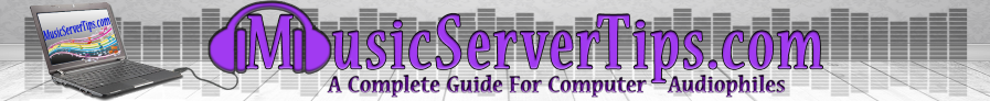 Music Server Tips header image